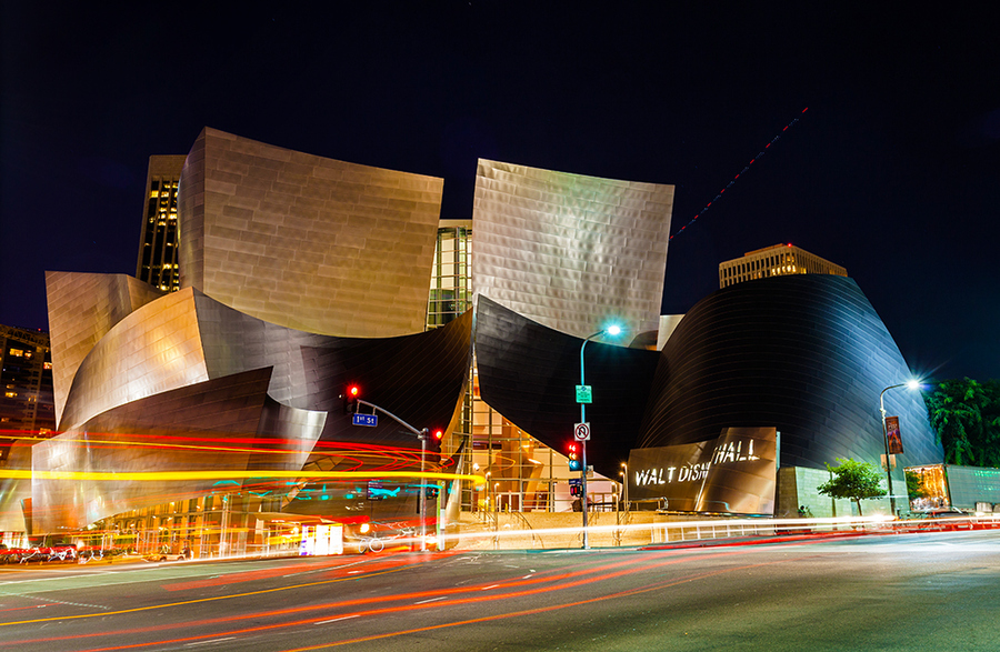 Walt Disney Concert Hall - Nhựt Phạm