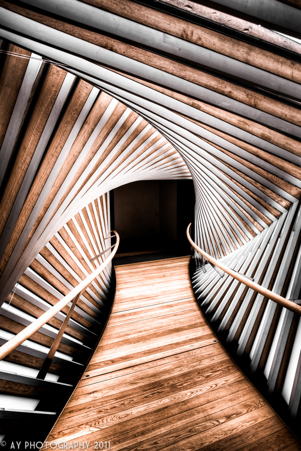 The Bridge of Aspiration (The Royal Ballet School), London, England Penaroza wood