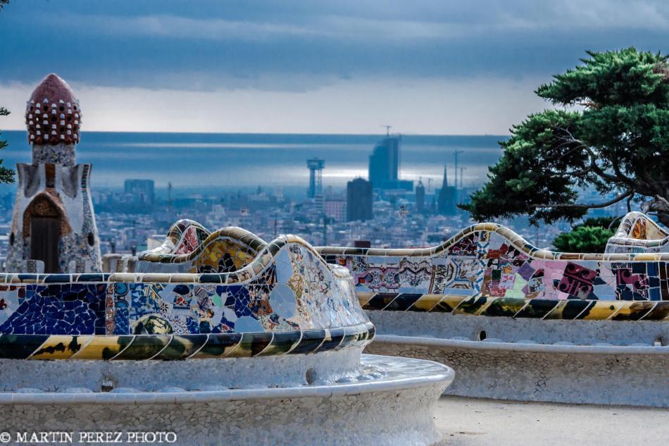 Parque Güel - Barcelona - Martin Perez