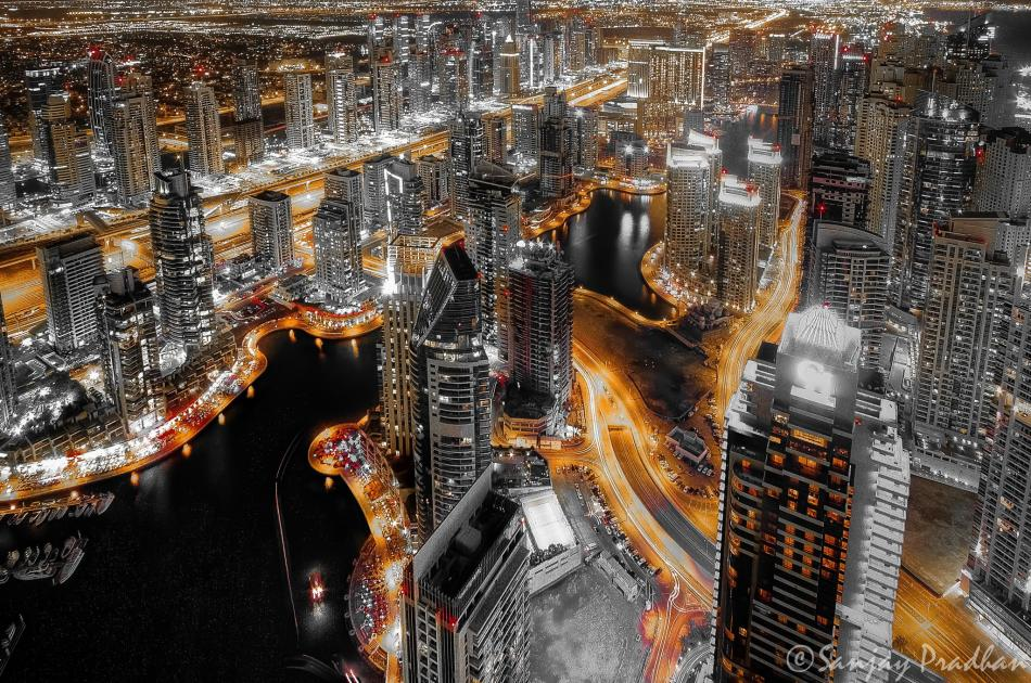 Colors of Night - Dubai - Sanjay Pradhan UAE