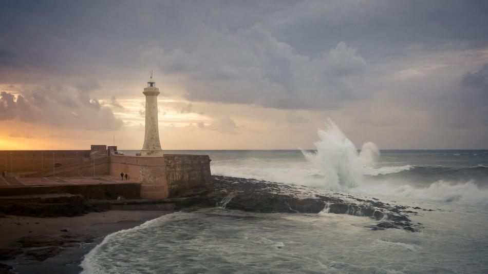 Morocco Rabat Lighthouse Amine Fassi