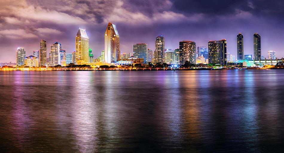 San Diego Skyline - Taylor Sanderson