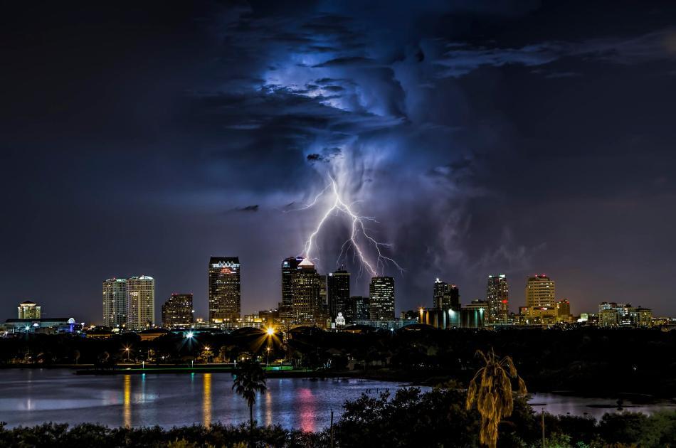 Tampa Lightning Strike - Justin Battles